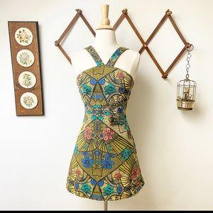 Zara • Halter Mini Dress